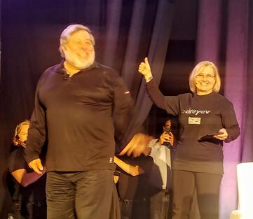 Woz at Dig In End